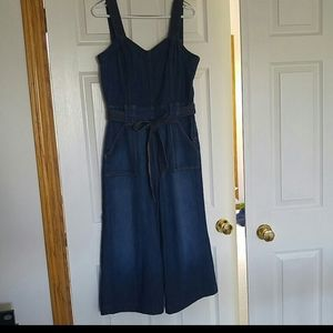 7 For All Mankind Denim Jumpsuit